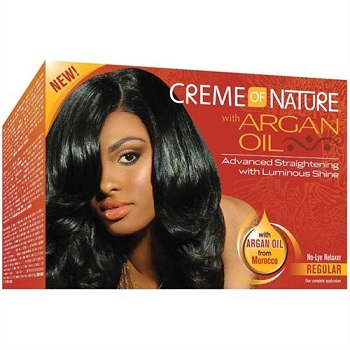 Creme of Nature with Argan Oil Relaxer Regular